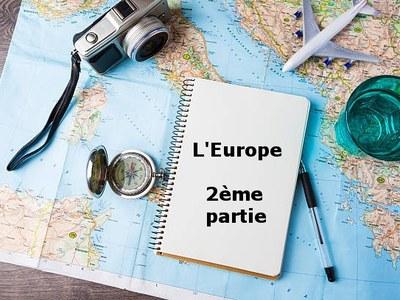 Le tour du monde en 80 livres - L'Europe (2)