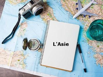Le tour du monde en 80 livres - L'Asie