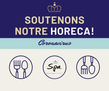 Coronavirus - Soutenons notre HoReCa